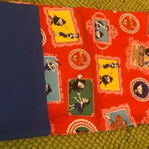 Other - Newly sewn Rocky and Bullwinkle pillowcase